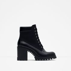 LACE-UP HIGH HEEL ANKLE BOOTS-View all-SHOES-WOMAN   ZARA United Kingdom