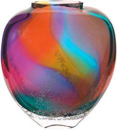 Buzz Blodgett: Flat Aurora Vase
