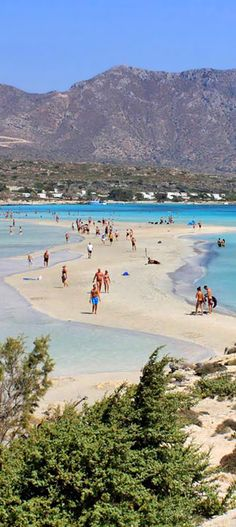 Elafonisi in Kissamos area, Chania, Crete, Greece