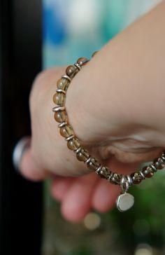 Sterling silver & smoky quartz bracelet from Design Laakso & Sundman, Helsinki