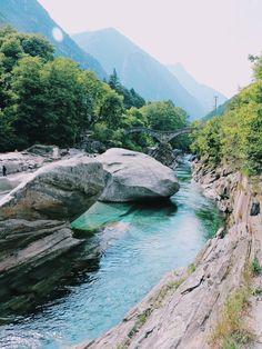 Valle Verzasca, Switzerland. My Point Of View, Switzerland, Buildings, Culture, River, People, Outdoor, Photos, Outdoors