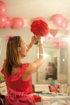 Tossing the bouquet. {plain & fancy living} looks like a pretty cool chic to me:)