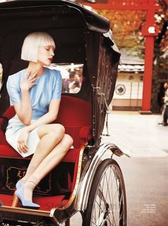 tokyo cool: ollie henderson by rick truscott for marie claire australia april 2012