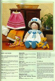 muñeca de lana   Aprender manualidades es facilisimo.com
