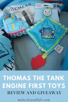 My First Thomas and Friends Cuddly Toy and Comforter Review and Giveaway! - Midwife and Life