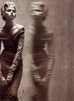 reflections of glamour - by steven meisel - for vogue italia by fashion.inspiration, via Flickr