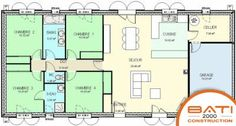 New Bedroom Modern Minimalist Floor Plans 68 Ideas Trendy Bedroom, Modern Bedroom, Best Bedroom Colors, Sims, Ranch Style Homes, House Blueprints, Small House Plans, Modern Minimalist, Planer