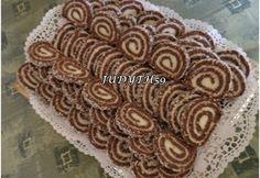 Kókuszos keksztekercs JUDYTH módra