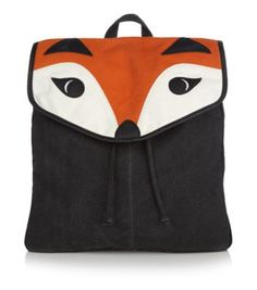 An animal backpack that isn't too childish. Not to mention foxes are just hot right now. Teens Black Fox Backpack