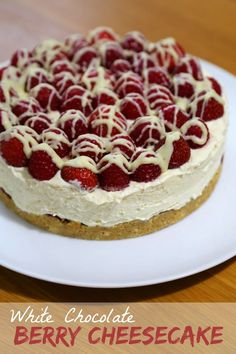 Rachel Cotterill: White Chocolate Berry Cheesecake