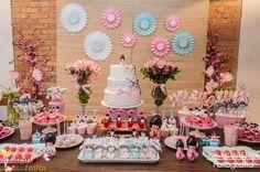 Festa Kokeshi | Festa infantil | Boneca japonesa | Decoração by Mariah festas #festakokeshi #kokeshi #mariahfestas
