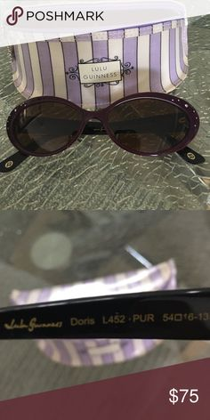 05c79557ed7 LULU GUINNESS bifocal sunglasses. LULU GUINNESS bifocal sunglasses. Bifocal  is about a 2.00 power