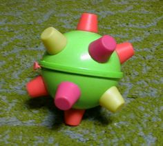 One of my favorite 90s toys, the Bumble ball.
