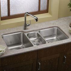 Payson Triple Bowl Kitchen Sink | Joss & Main
