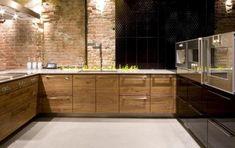 Madera en la cocina   Decorar tu casa es facilisimo.com