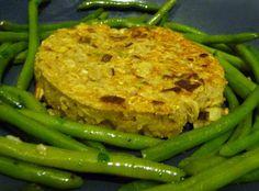 Galettes de flocons d'orge aux poireaux (vegan, sans oeuf) | LA TABLE VERTE