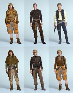 Young Han Solo variations
