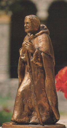 Thomaso Gismondi, st Dominique, 1989, couvent ste Sabine, Rome