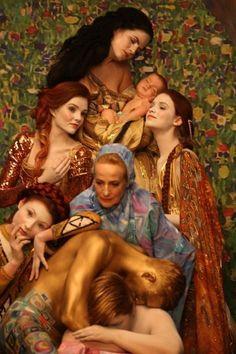 Painting Art Inspiration Gustav Klimt 47 Ideas – Keep up with the times. Gustav Klimt, Klimt Art, Foto Fashion, Body Poses, Kandinsky, Collage, Portraits, Famous Artists, Color Photography