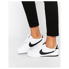 Nike - Cortez - Weiße Sneakers aus Leder - Weiß