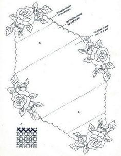 T T roses in each corner envelope Embroidery Transfers, Embroidery Patterns, Beginning Embroidery, Piano Crafts, Parchment Cards, Fancy Fold Cards, 3d Cards, Card Patterns, Card Envelopes