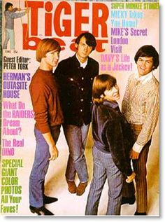 Cover of Tiger Beat Magazine - 1967 - Monkees, Raiders Dino Martin, Herman (Peter Noone)