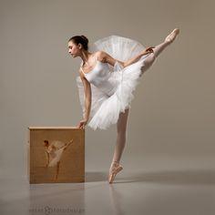 Portrait of a young Dancer . by Trid Estet