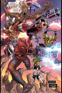Guardians Of The Galaxy - Agent Venom joins the Guardians