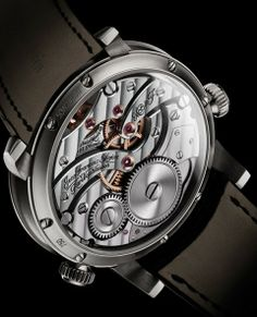 Legacy Machine N°1 Watch by MB&F http://www.mbandf.com/machines/legacy-machines/lm1 #mbandf #legacymachine #lm1 #movement #horlogerie #hautehorlogerie #timepiece #luxury #watches #watchmania