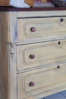 my mms milk paint review, painted furniture