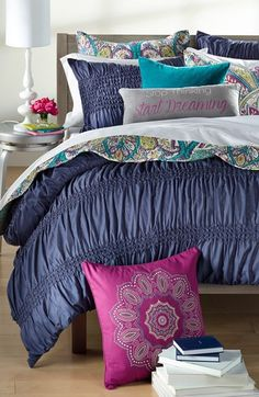 Nordstrom at Home 'Isabella' & Levtex 'Venice' Bedding Collection Bedroom Bed, Teen Bedroom, Master Bedroom, Bedroom Decor, Bedroom Ideas, Donia, Dream Decor, Bedding Collections, Soft Furnishings