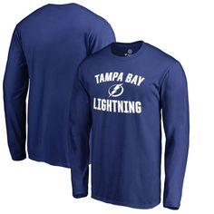 Tampa Bay Lightning Victory Arch Long Sleeve T-Shirt - Blue