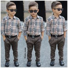 ❤️ Baby Boy Swag, Baby Boy Dress, Baby Boy Outfits, Toddler Boy Fashion, Little Boy Fashion, Kids Haircut Styles, Boys Kurta Design, Toddler Boy Haircuts, Outfits Niños