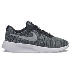 san francisco 08158 ad977 Nike Tanjun Boys Running Shoes, Size 5, Grey (Charcoal) Nike