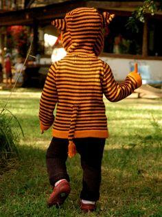 Organic Cotton Tiger Sweater