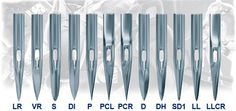 Know your Slim Set Point from your Set Cloth Point?   #Sewing machine needles: http://bit.ly/1JChIk8 #needlework
