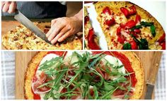 Os enseñamos a preparar esta sorprendente receta de pizza sin gluten con una base de coliflor.