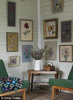 Elisabeth Dunker's cottage in Sweden.