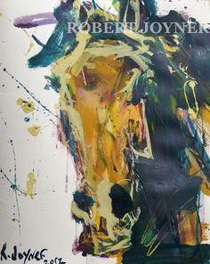 Abstract Horse Portrait, Robert Joyner
