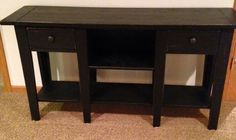 Broyhill Attic Heirlooms Sofa Table Home And Textiles Rh Licarh Org