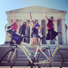 #BikeandRoll #BikeTours make us jump for joy!