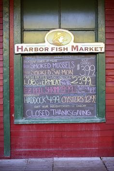 One of Cuddledown's favorite places to buy fresh fish in Portland, Maine