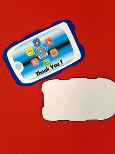 Paw Patrol Thank You Cards Paw Patrol by CreativeCoupleDnT on Etsy
