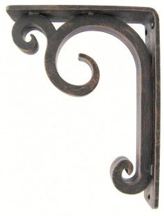 High quality wrought iron corbels and iron shelf brackets. Hand forged metal corbels and brackets for countertops. Roof Overhang, Iron Shelf, Forging Metal, Stone Countertops, Shelf Brackets, Deep, Blacksmithing, Washing Clothes, Wrought Iron
