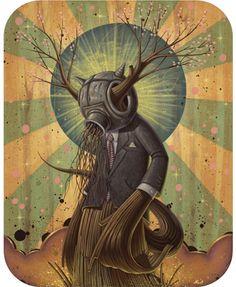 "Nathan Ota, ""Dede the Tree Man"""