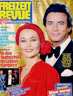 Hella and Pierre Brice, nov 1983