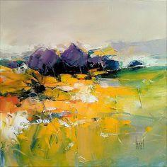 peinture, paysage, Hervé Lenouvel