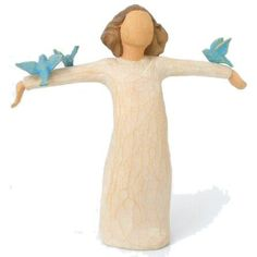 Willow Tree Happiness Angel Figurine Susan Lordi 26130