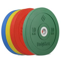 Olympic Functional Training Coloured Bumper Discs. These Olympic Functional Training Coloured Bumper Discs are fantastic plates that are perfect for all types of serious training facility. Improve your strength, boost cardio fitness and add stunning muscle definition to your body with the exceptional Olympic Rubber Bumper Plates. A wide range of weight including 5kg, 10kg, 15kg, 20kg and 25kg gives you all you need for an intense and challenging weight-training program. Colour-coded for easy…