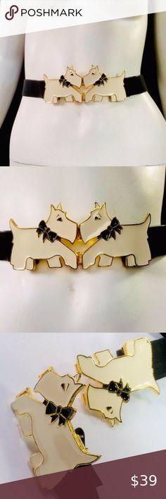 I just added this listing on Poshmark: Vtg Ivory Scottish Terrier Enamel Cincher Belt. #shopmycloset #poshmark #fashion #shopping #style #forsale #Accessories Vintage Chic Fashion, Boho Fashion, Sunglasses Accessories, Women Accessories, Fashion Accessories, Scottish Terriers, White Enamel, Costume Jewelry, Belts